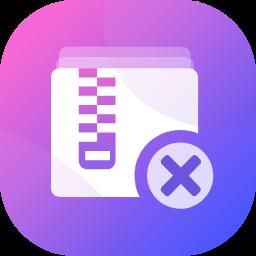 批量删除文件夹中zip压缩文件