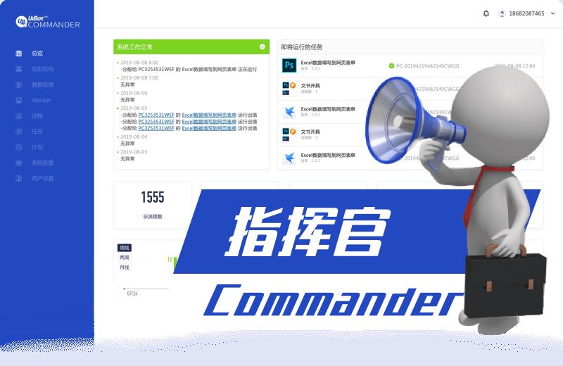 UiBot Commander - RPA机器人管理中心