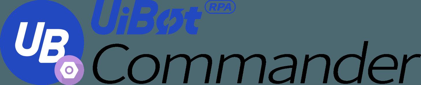 UiBot RPA Commander